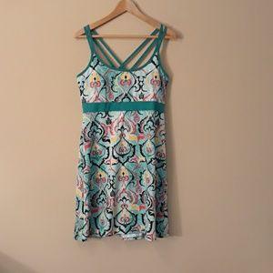Soybu Athlesisure Dress With Shelf Bra Like NEW XL